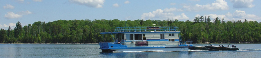 Houseboat Adventures on Lake of the Woods bimage119273